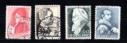 Nederland 1935 Nvph Nr 274 - 277, Mi Nr 282 - 285; Zomerzegels - Periode 1891-1948 (Wilhelmina)