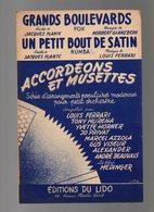 Partition Grands Boulevards Fox Et Un Petit Bout De Satin Rumba - Accordéons Et Musettes Enregistré Par Yvette Horner - Opern