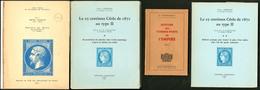 """""""Le 25c Cérès De 1871 Au Type II"""" Par P. Germain éd.63 2 Vol. Brochés, Les Timbres De L'Empire Par Dr Fromaigeat Broché, - Specialized Literature"""