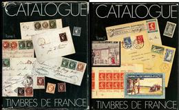 Catalogue Spécialisé Yvert. Ed. 1975 Tome I Et 1982 Tome II, Reliés. - TB - Specialized Literature
