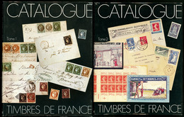Catalogue Spécialisé Yvert. Ed. 1975 Tome I Et 1982 Tome II, Reliés, état Neuf. - TB - Specialized Literature