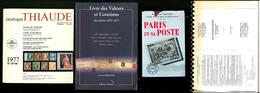 Divers, 6 Ouvrages Dont Ballons Montés De G.Lhéritier éd. 2008 , Thiaude 1977, Etc. - TB - Specialized Literature