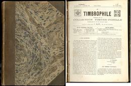 """""""Le Timbrophile"""", Revue De Pierre Mahé, Du N°1 15 Nov 1864 Au 30 Oct 1868, Relié. - TB - Specialized Literature"""