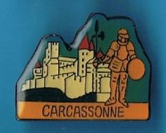 PIN'S //  ** CITÉ DE CARCASSONNE ** - Cities
