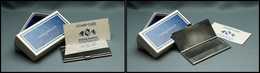 """Etui En Argent De La Maison """"Reed & Barton"""" (classic American Silver), 1 Comp., 74x32x5mm, état Neuf Dans Sa Boîte D'ori - Stamp Boxes"""