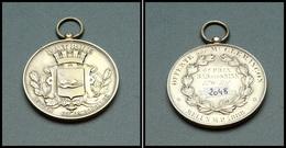 """Médaille """"Patrie, Luttes Colombophiles"""", Offerte Par Mr Clemencon, 4e Prix Bar Sur Seine, 170kil Mr Gauthier, Melun MP 1 - Boites A Timbres"""