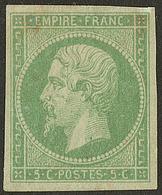 * No 8, Fortes Charnières Et Froissure Mais TB D'aspect - France (former Colonies & Protectorates)