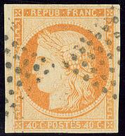 4 Retouché. No 13b, Obl Losange. - TB - France (former Colonies & Protectorates)