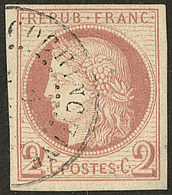No 15, Obl Cad Cochinchine. - TB - France (former Colonies & Protectorates)