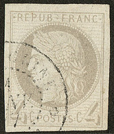 No 16, Obl Cad Cochinchine Janv 77. - TB - France (former Colonies & Protectorates)