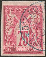 No 28, Obl Cad Bleu Dzaoudzi, Jolie Pièce. - TB - France (former Colonies & Protectorates)