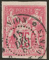 No 28, Obl Cad St Denis Réunion. - TB - France (former Colonies & Protectorates)
