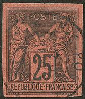 No 43, Obl Cad Nouméa. - TB (cote Maury) - France (former Colonies & Protectorates)