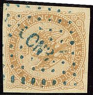 """Cochinchine. No 3, Obl Losange Bleu """"CCN3"""". - TB - Cochin China (1886-1887)"""