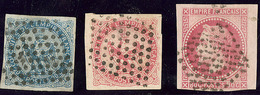 Inde. Nos 4, 6, 10, Obl Losange Muet 81 Pts. - TB (cote Maury) - India (1892-1954)