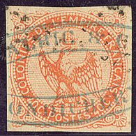"""Inde. No 5, Obl Cachet Commercial """"Amalric/Pondichéry"""". - TB - India (1892-1954)"""
