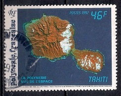 French Polynesia 1992 - SPOT  Satellite Pictures Of French Polynesia - Polinesia Francesa