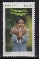 Mexique.   Jour International Contre Les Drogues Et Traffics Illicites. 1 T-p Neuf ** # 2107 - Mexique