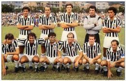 ITALIA     SQUADRA     JUVENTUS      ANNI    80     FOTO    RIPRODUZIONE - Soccer
