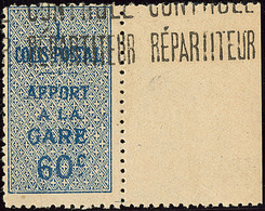 ** Colis Postaux. No 7A, Bdf, Très Frais. - TB - Algérie (1924-1962)