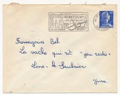 Enveloppe - OMEC Secap - MIRECOURT (Vosges) - Ses Dentelles, Sa Lutherie - 1958 - Marcophilie (Lettres)
