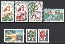 Polynésie Française Lot 1 * Et Obl - French Polynesia