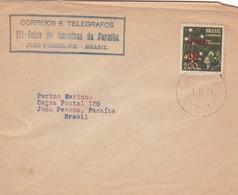 III FEIRA DE AMOSTRAS DA PARAIBA, JOAO PESSOA, PB, BRASIL 1944. SPECIAL COVER - BLEUP - Brazil