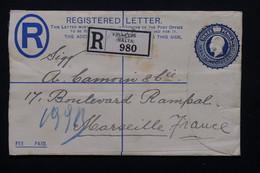 MALTE - Entier Postal + Complément Au Verso En Recommandé De Valletta Pour La France En 1934 - L 20879 - Malte