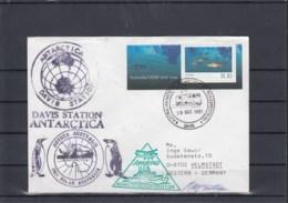 AAT (KA) Michel Cat.No. Cover (48) - Australian Antarctic Territory (AAT)