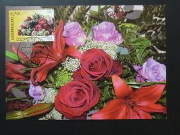 Carte Maximum Card Roses Horticulture Luxembourg 2006 - Maximum Cards