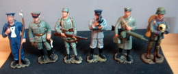 Soldats De Plomb, Armée Allemande 1916 , 6 Figurines - Soldats De Plomb