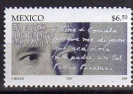 Mexique. Ecrivain Juan Rulfo. Un T-p Neuf **  Yvert # 2095 - Mexique