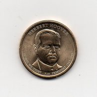 Stati Uniti - 2014 - 1 Dollaro - Herbert Hoover (31° Presidente 1929 -1933) - Vedi Foto - (MW1964) - Emissioni Federali