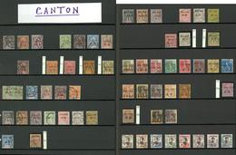Bureaux Chinois. 1901-1919, Canton, Hoi-Hao, Kouang Tcheou, Etc., Valeurs Et Obl Diverses. - TB - Frankreich (alte Kolonien Und Herrschaften)