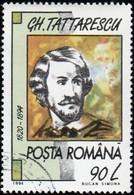 ROMANIA - Scott #3962A Gheorghe Tattarescu (*) / Used Stamp - 1948-.... Republiken