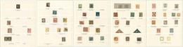 1840-1969 (Poste), Bonnes Et Moyennes Valeurs En Majorité N°1 Du Monde D'Allemagne à Zoulouland, Dont Qqs Colonies Franç - Collections (en Albums)