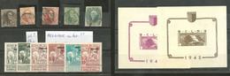 Divers Dont Belgique, Obl Ou *, Tous états - Collections (en Albums)