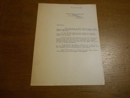 """2 Anciennes Lettres """"Chaussures Mireille""""  Forest Bruxelles 1935 Bon état - Textile & Vestimentaire"""