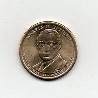 Stati Uniti - 2014 - 1 Dollaro - Warren G. Harding (29° Presidente 1921 -1923) - Vedi Foto - (MW1965) - Emissioni Federali
