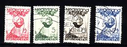 Nederland 1935 Nvph Nr 279 - 282, Mi Nr 287 - 290 ; Kinderzegels - Periode 1891-1948 (Wilhelmina)