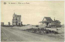 ST IDESBALD - Coxyde - Villas Sur La Route - N° 1799 - Héliotypie De Graeve - Koksijde