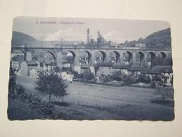 F6   NILVANGE  Viaduc Et Usines - France
