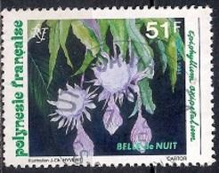 French Polynesia 1994 - Beauty Of The Night, Cactus - Polinesia Francesa