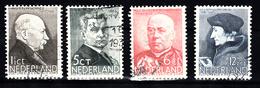 Nederland 1936 Nvph Nr 283 - 286, Mi Nr 291 - 294, Zomerzegels - Periode 1891-1948 (Wilhelmina)