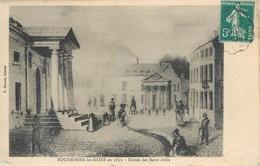 Lot 7 CPA 52 Haute Marne Bourbonne Les Bains En 1830 - Bourbonne Les Bains