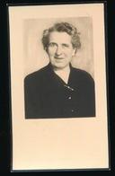 ALINE HEMELSOET     MELLE    1901    GENT 1956   2 AFBEELDINGEN - Décès
