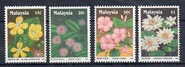 MALAISIE - MALAYSIA - FLEURS - FLOWERS - 1990 - - Malaysia (1964-...)