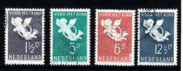 Nederland 1936 Nvph Nr 289 - 292, Mi Nr 297 - 300 , Kinderzegels - Periode 1891-1948 (Wilhelmina)