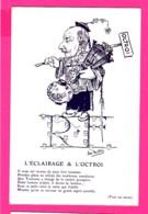CPA (Réf Z969) (ILLUSTRATEUR  JAN METTEIX) L'ÉCLAIRAGE & L'OCTROI - Metteix