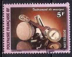 French Polynesia 1996 - Musical Instruments - Polinesia Francesa
